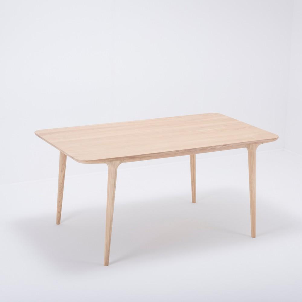 Jedálenský stôl z masívneho dubového dreva Gazzda Fawn, 160×90cm
