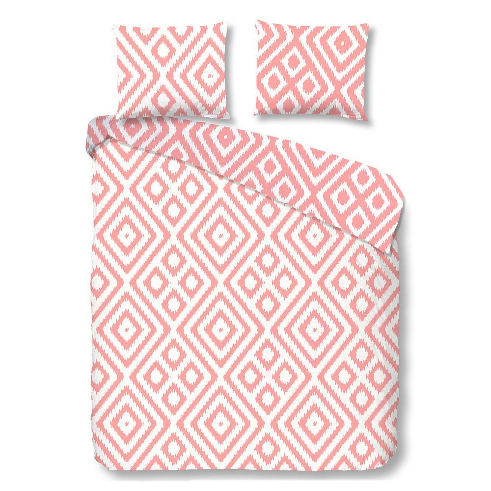 Ružové bavlnené obliečky Müller Textiels Frits, 140 x 200 cm