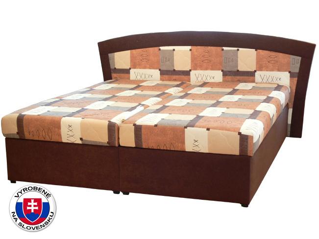 Manželská posteľ 180 cm Roma 1 (s molitanovým matracom)