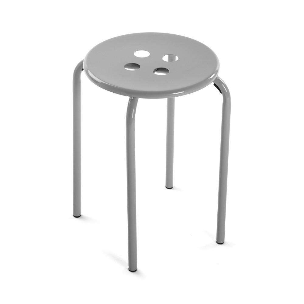 Sivá stolička Versa Omis