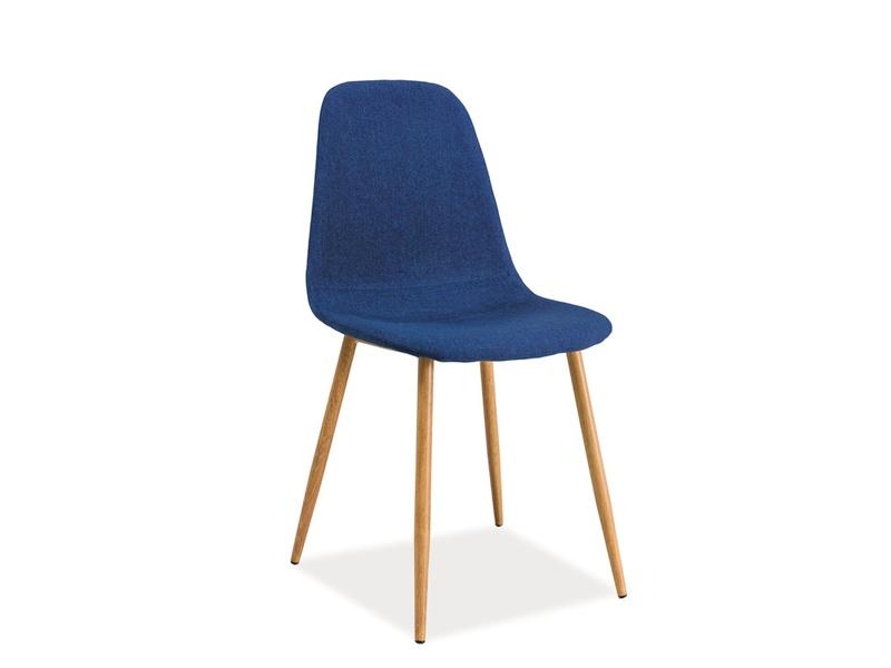 Jedálenská stolička Fox (modrá)