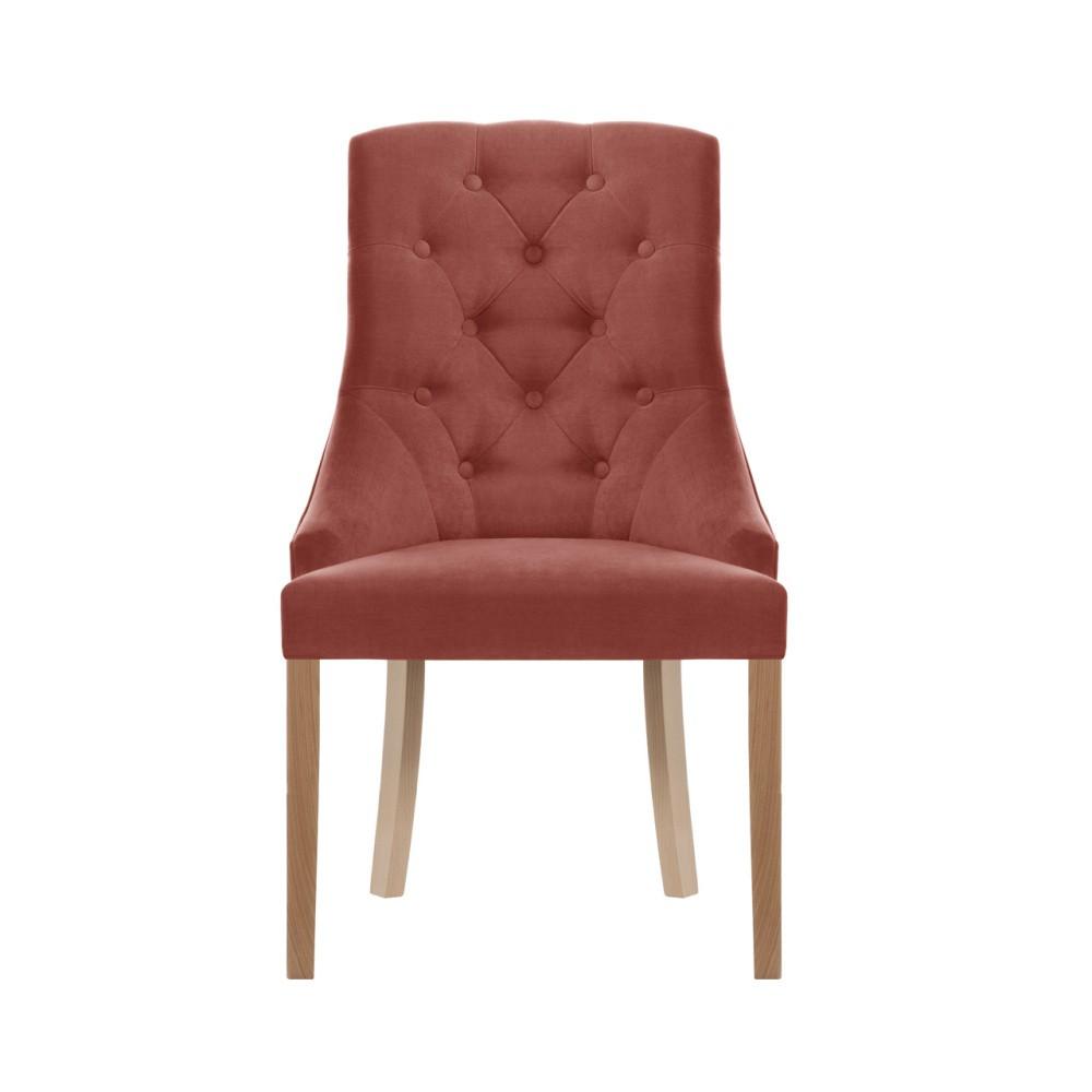 Broskyňovooranžová stolička Jalouse Maison Chiara