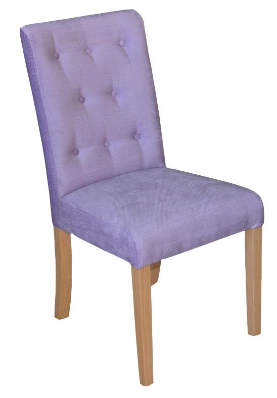 SKOTI 2 GUZIK jedálenská stolička, látka na výber