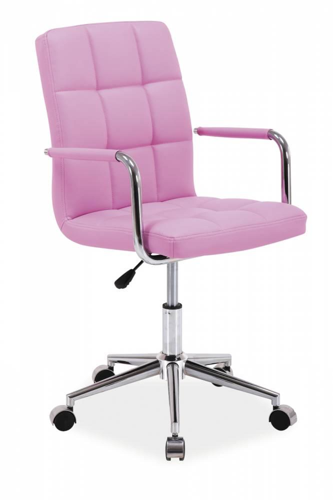 Kancelárske kreslo Q-022   Farba: Ružová