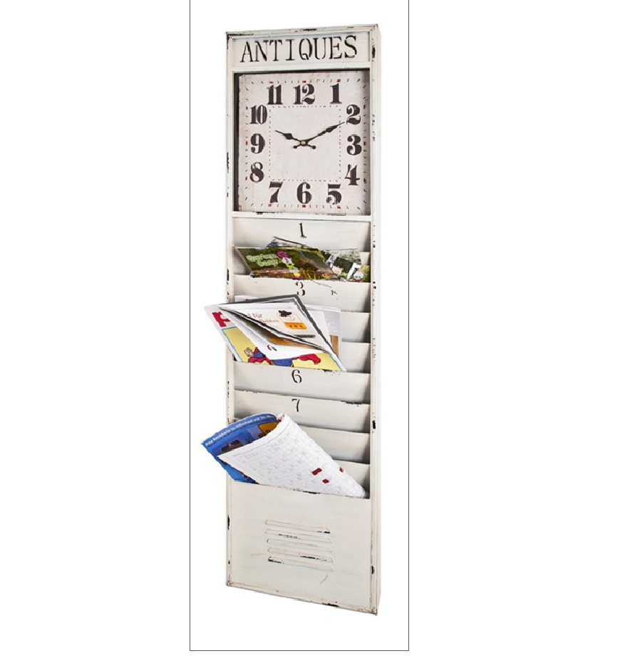 Nástenný panel s hodinami BORIS