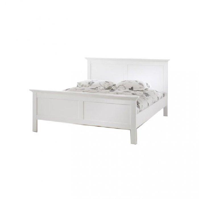 TEMPO KONDELA PARIS 76703 180 manželská posteľ - biela