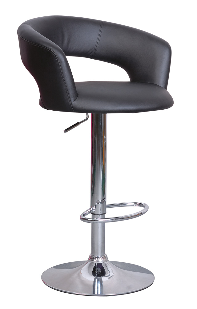 Barová stolička C-328 Krokus čierna