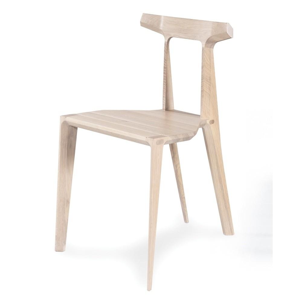 Jedálenská stolička z dubového dreva Wewood - Portugues Joinery Orca