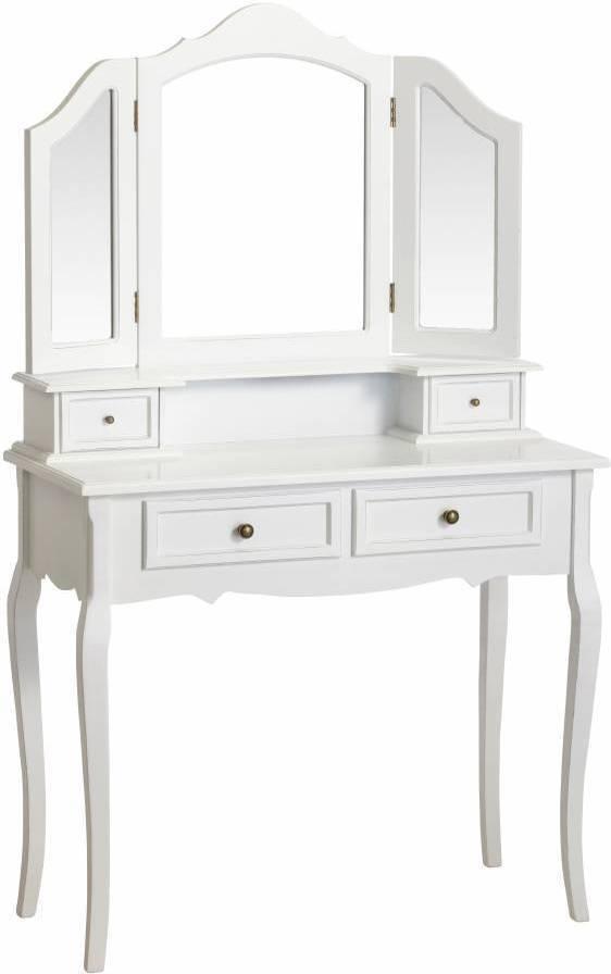Toaletný stolík YED PRIOR - biela