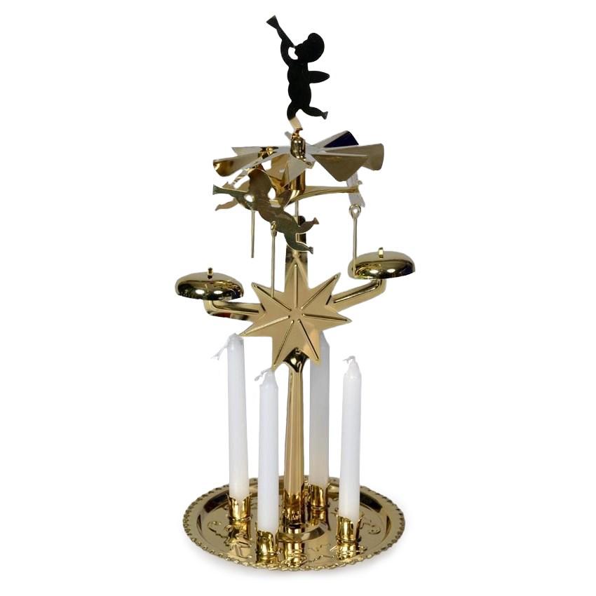 HTH Anjelské zvonenie zlatá v. 30 cm, zlatá