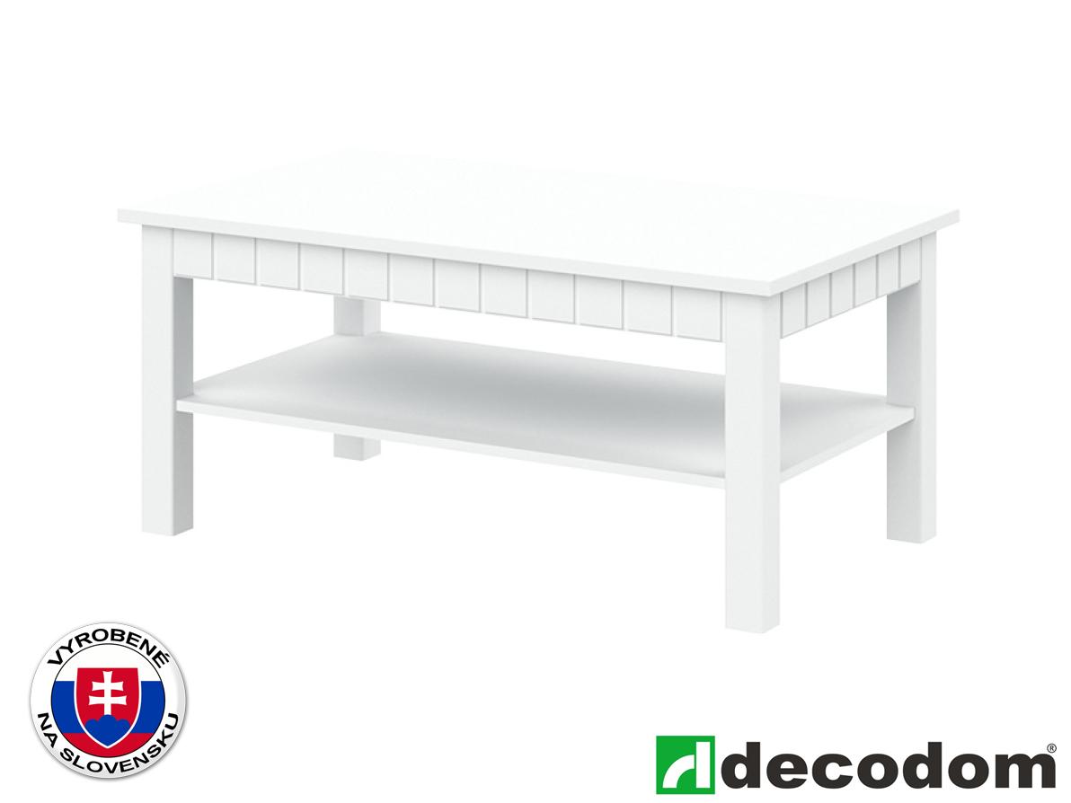 Konferenčný stolík Decodom Lirot Typ 45 (biela arctic)
