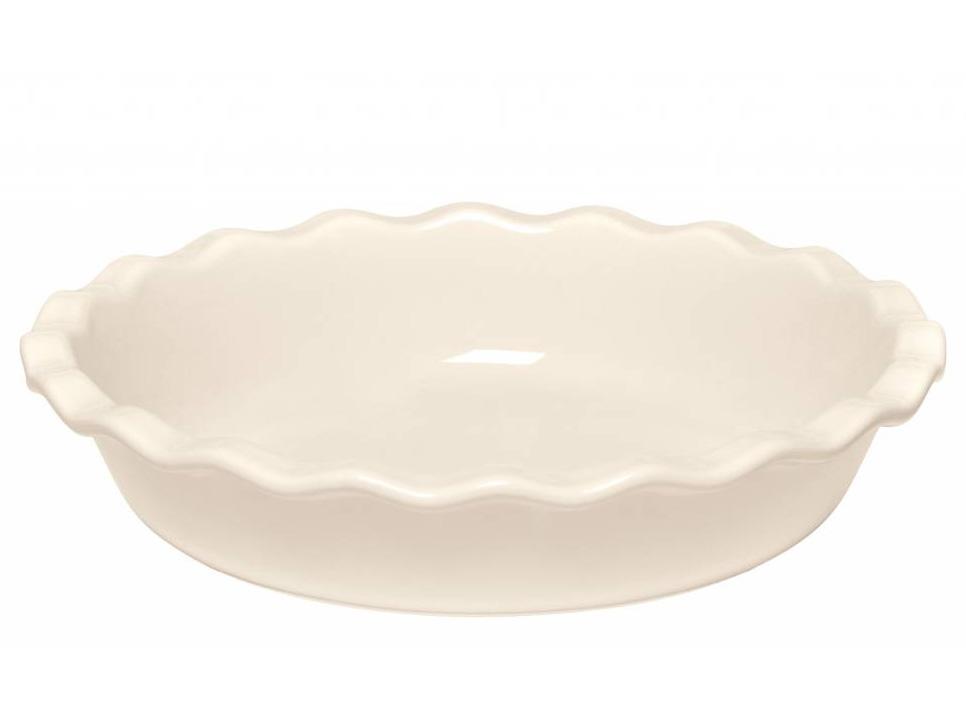 Forma na koláč krémová Clay Ø 26 cm, Emile Henry