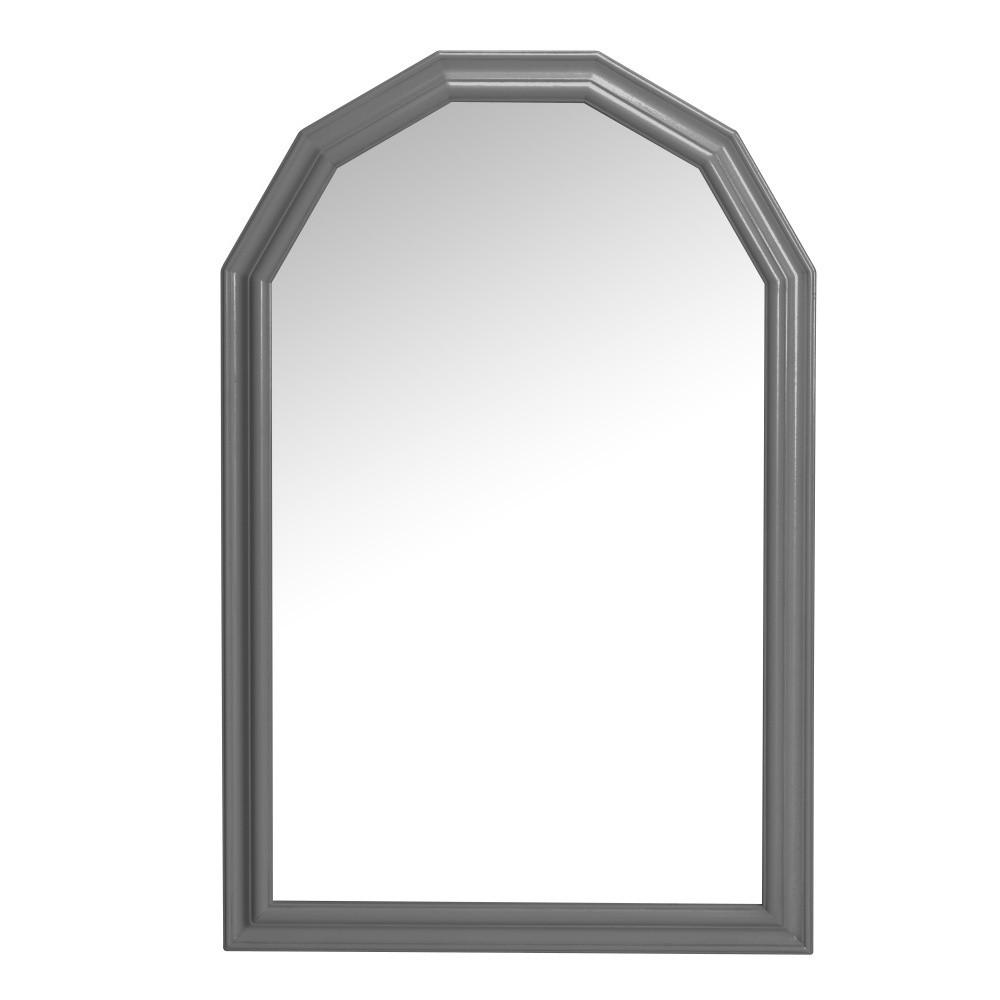 Tmavohnedé nástenné zrkadlo Folke Nette