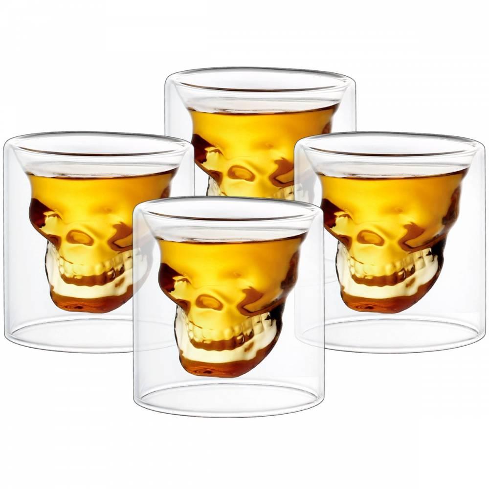4home Štamperlík Skull Hot&Cool, 20 ml, 4 ks
