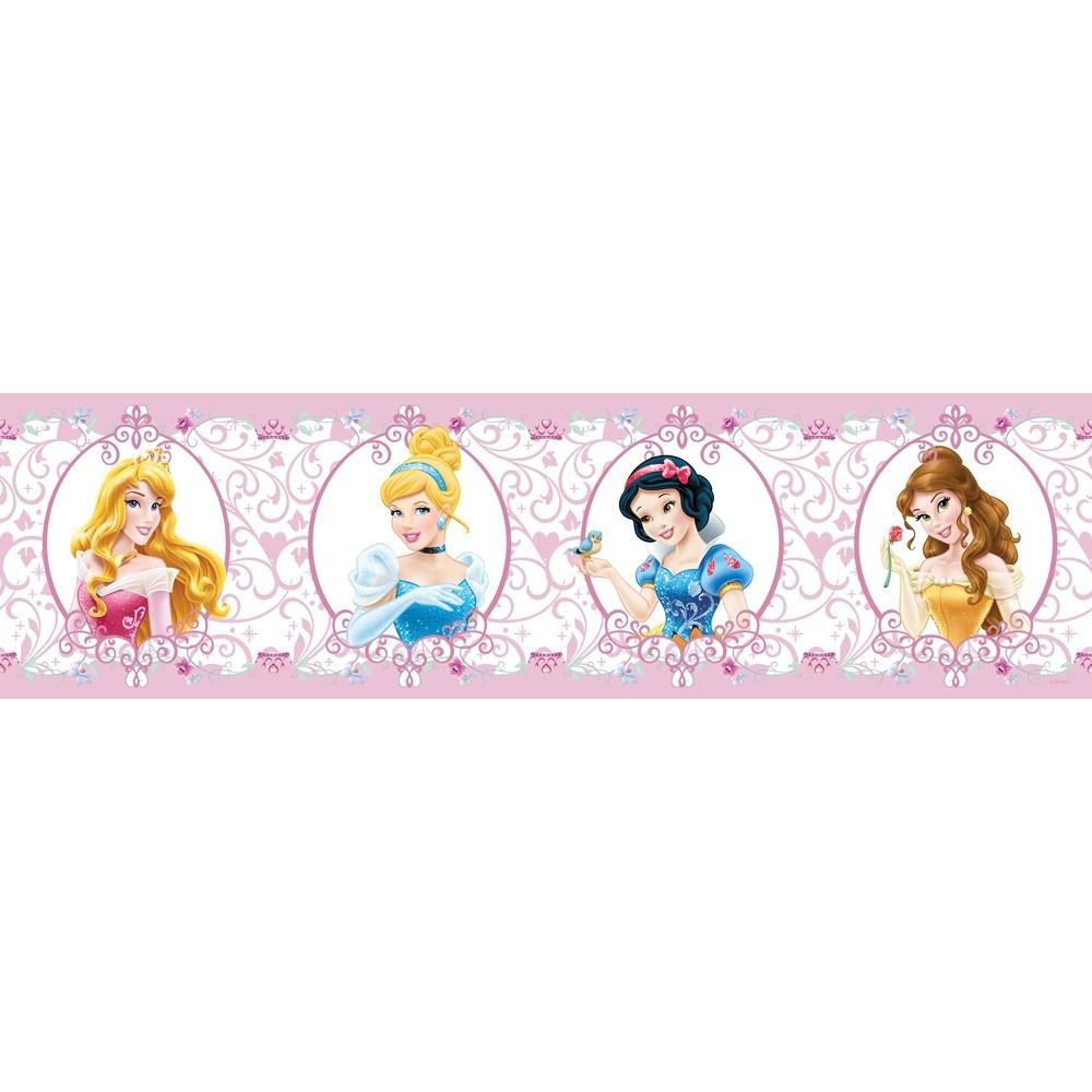 AG Art Samolepiaca bordúra Princezné, 500 x 14 cm