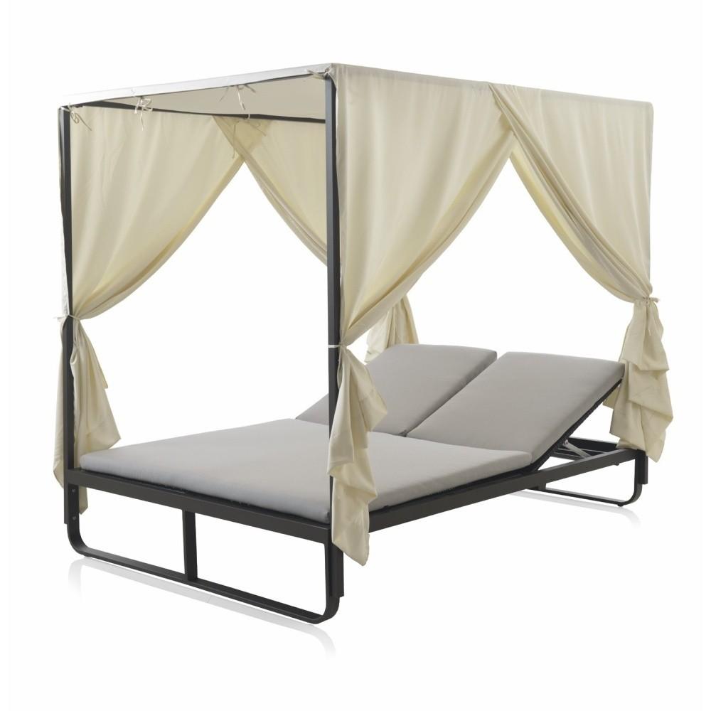 Záhradná polohovateľná posteľ Geese Temprence