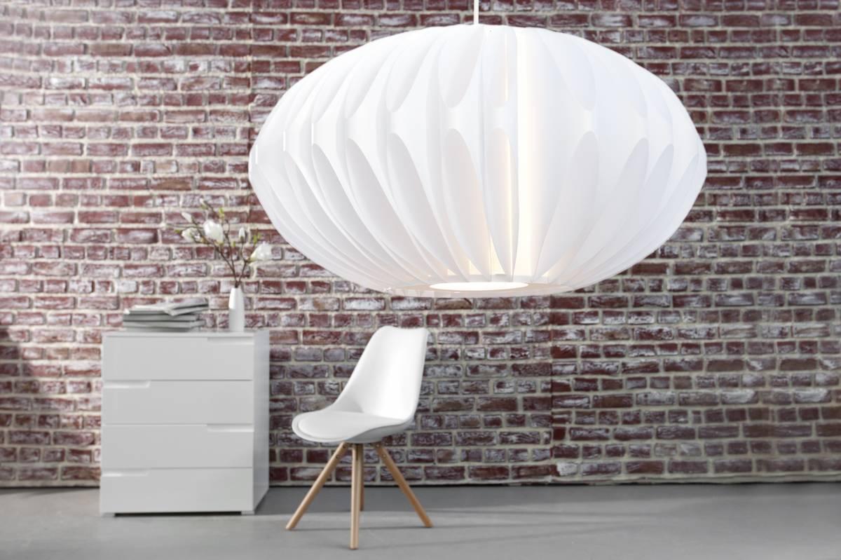 Závesná lampa EDEMIE - biela