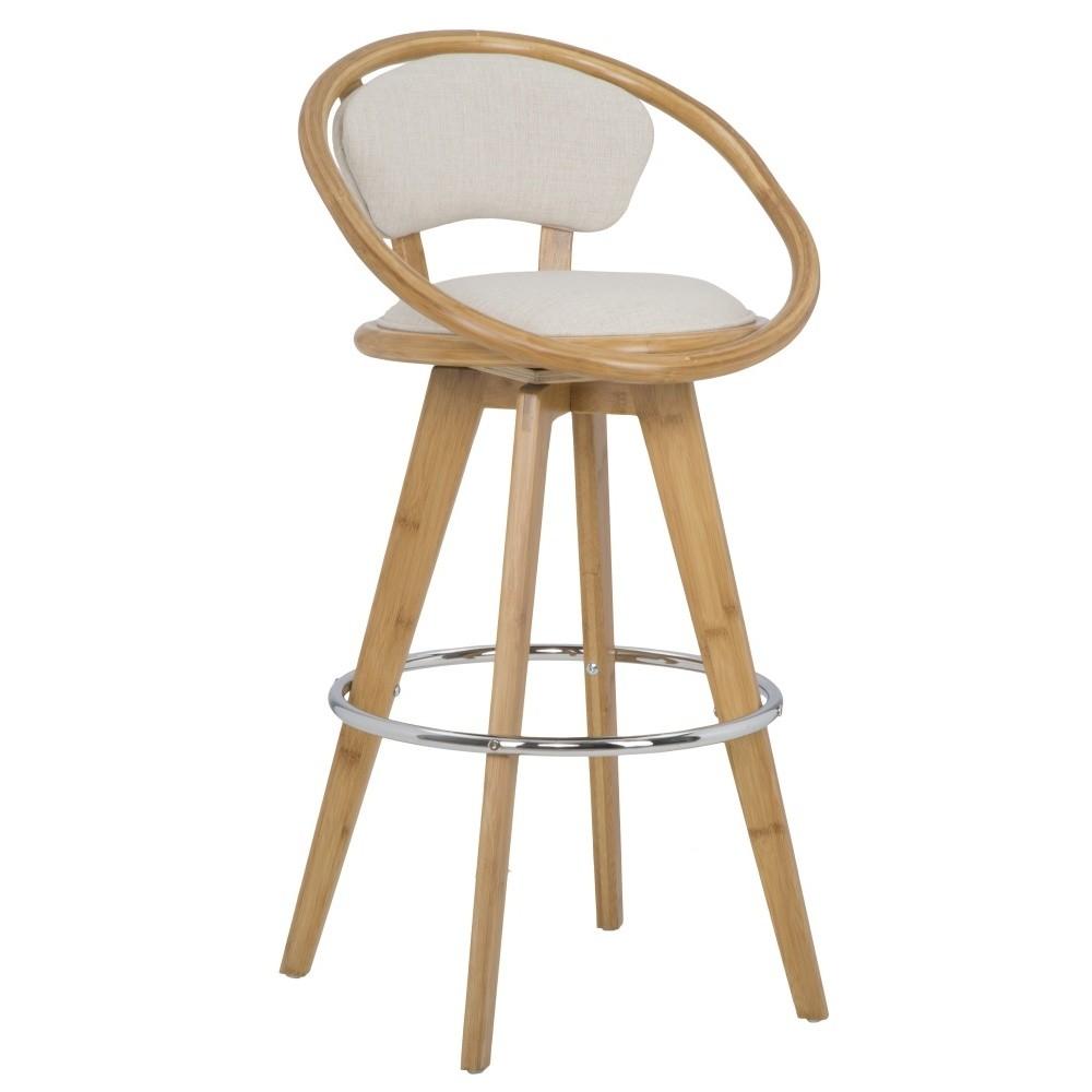 Barová stolička Mauro Ferretti Bamboo Globe