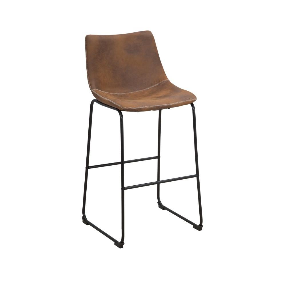 Hnedá barová stolička Mauro Ferretti Metropolitan