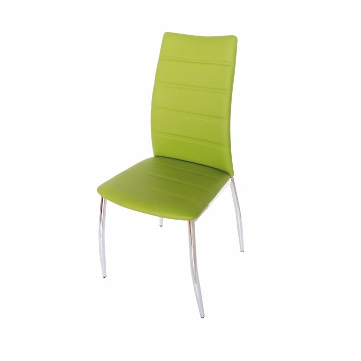 Jedálenská stolička Dela zelená