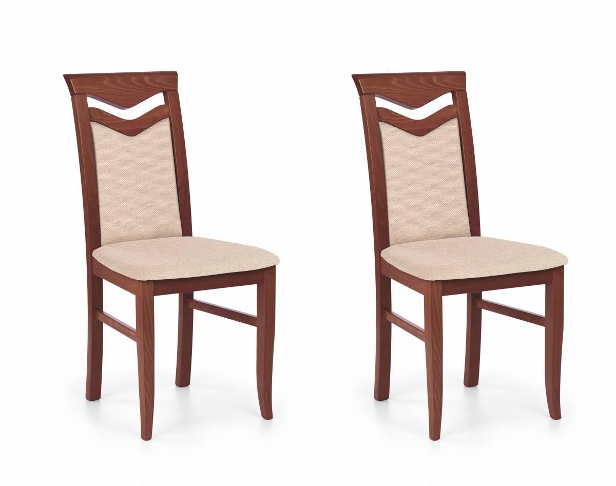 Set 2ks. jedálenských stoličiek Citrone (čerešňa antická II + béžová) *výpredaj