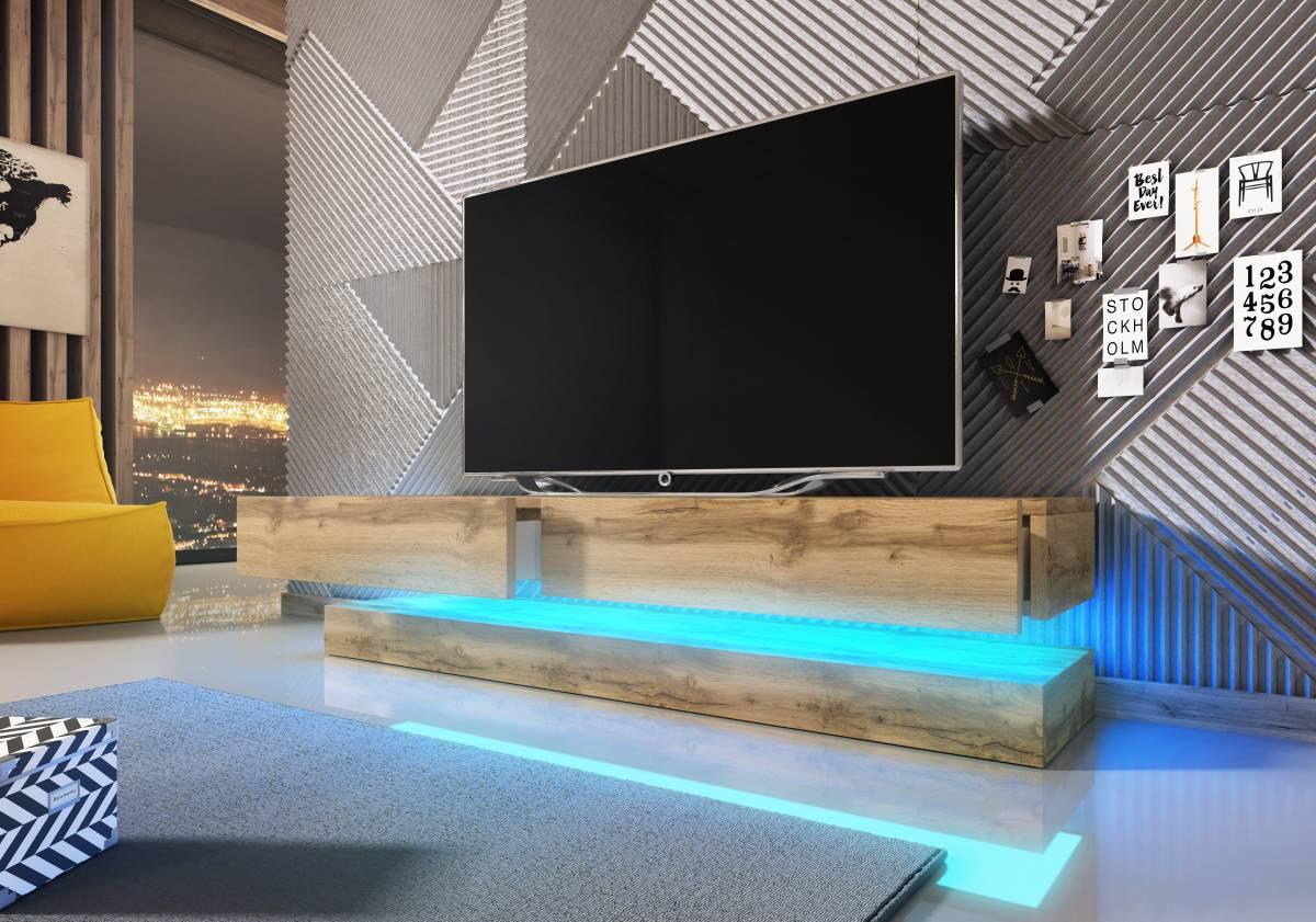 TV stolík Fly (dub wotan)