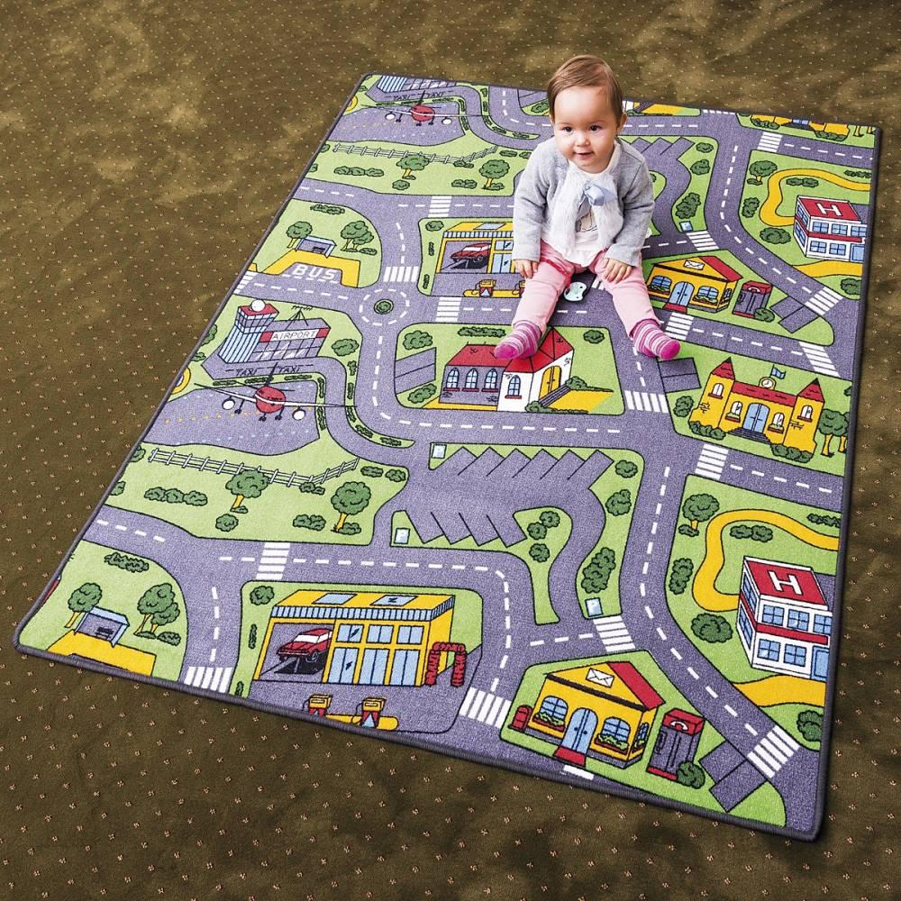 Vopi Detský koberec City life, 133 x 165 cm