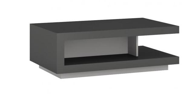 Konferenčný stolík Lyon LYOT01   Farba: sivý platinum / sivý lesk