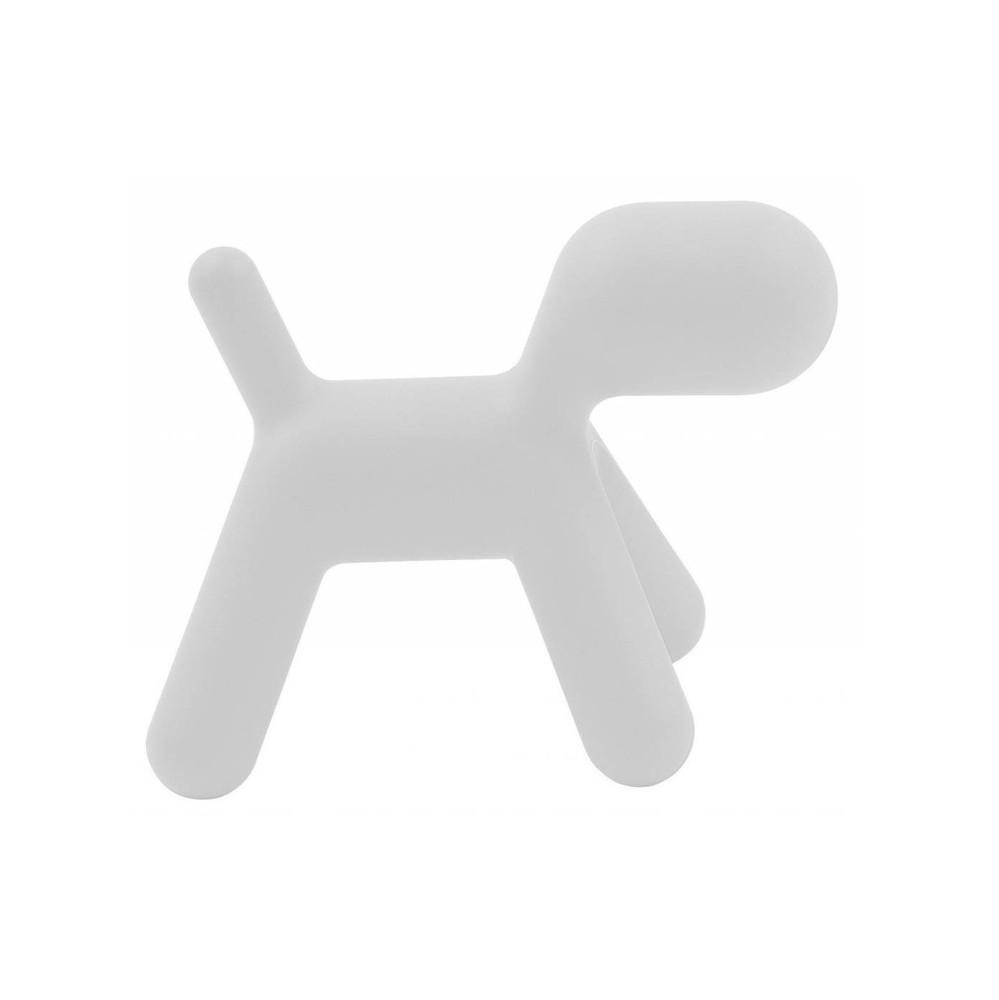 Biela stolička Magis Puppy, dĺžka 43 cm