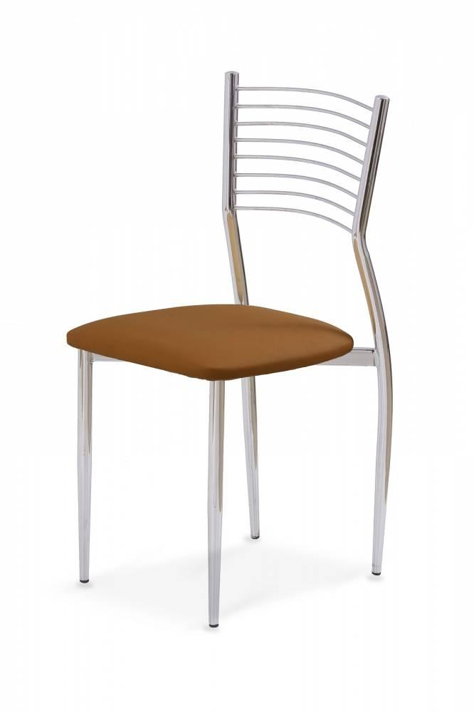 Jedálenská stolička K9 hnedá
