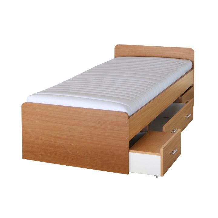TEMPO KONDELA DUET 80262 90 posteľ - buk