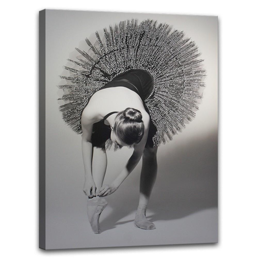 Obraz Styler Canvas Glam Balerina, 60×80 cm