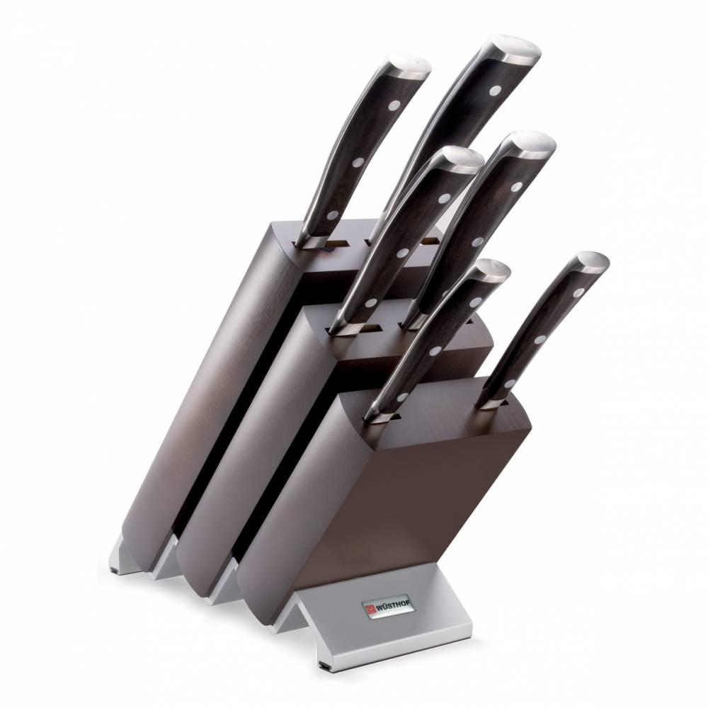 Sada nožů s blokem 7dílná Ikon