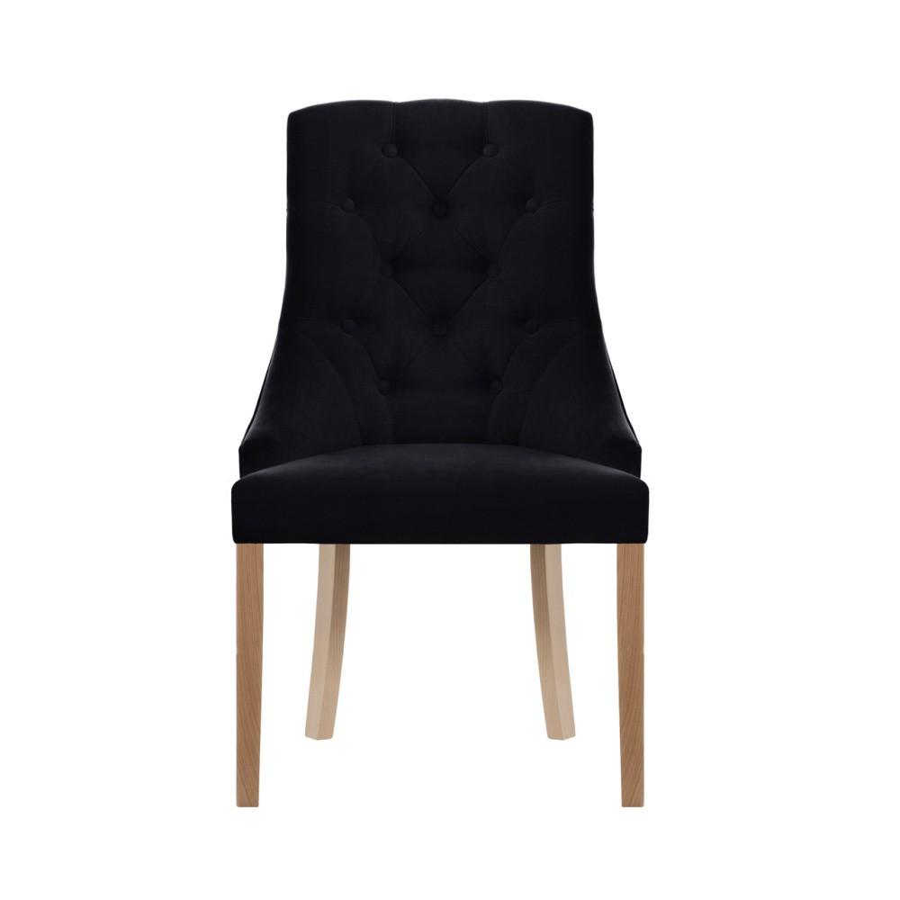 Čierna stolička Jalouse Maison Chiara