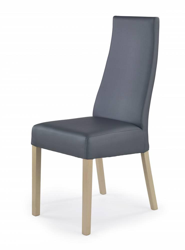 Jedálenská stolička Kordian (dub sonoma + sivá)