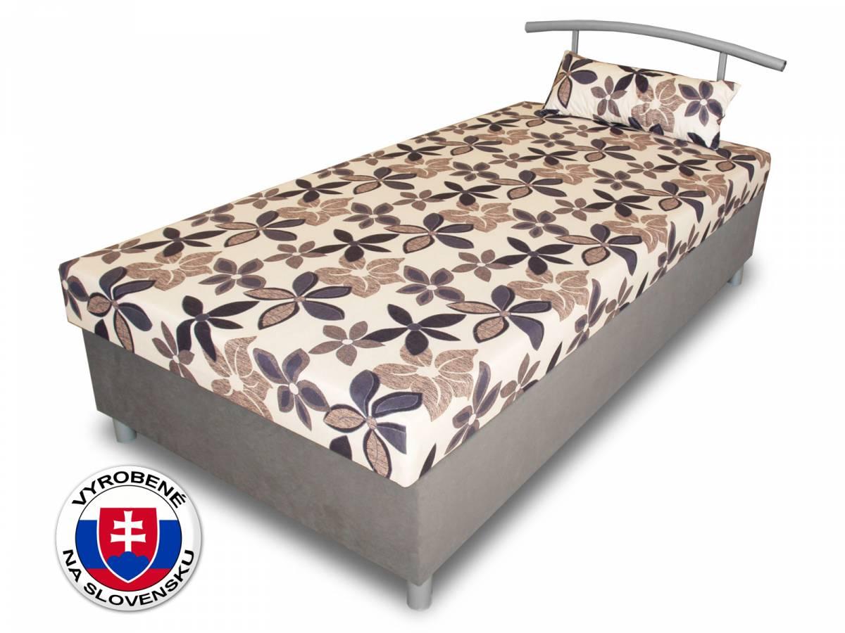 Jednolôžková posteľ (váľanda) 100 cm Benab Elsona 100 (s roštom, matracom a snímateľným vankúšom)