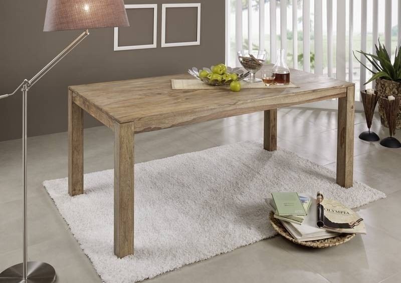 BUDDHA jedálenský stôl #104 200x100 prírodný olejovaný indický palisander