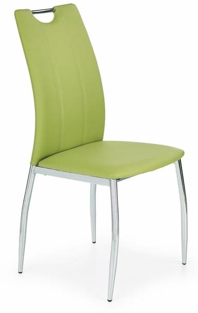 Jedálenská stolička K187 limetka