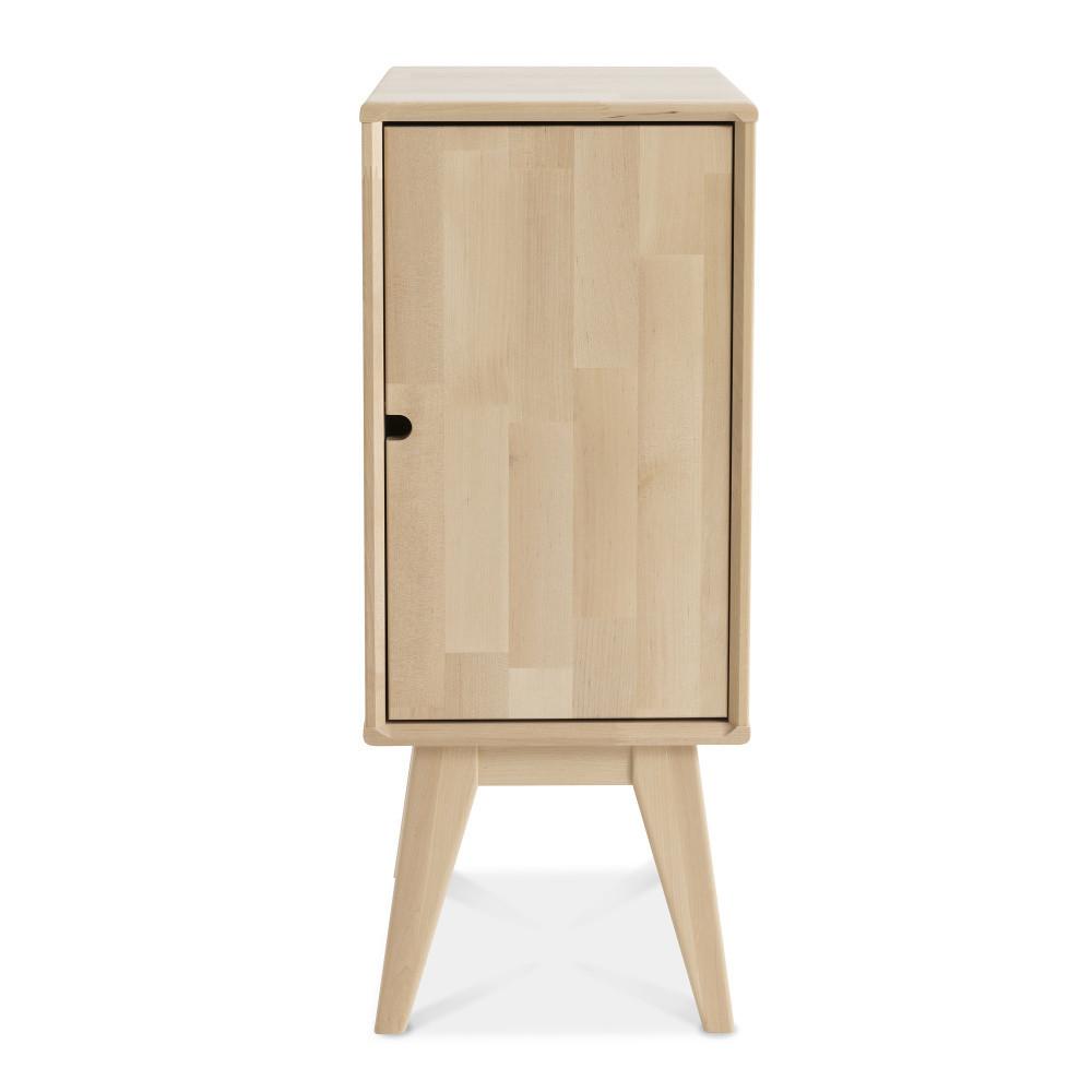 Ručne vyrobený nočný stolík z masívneho brezového dreva KiteenNotte