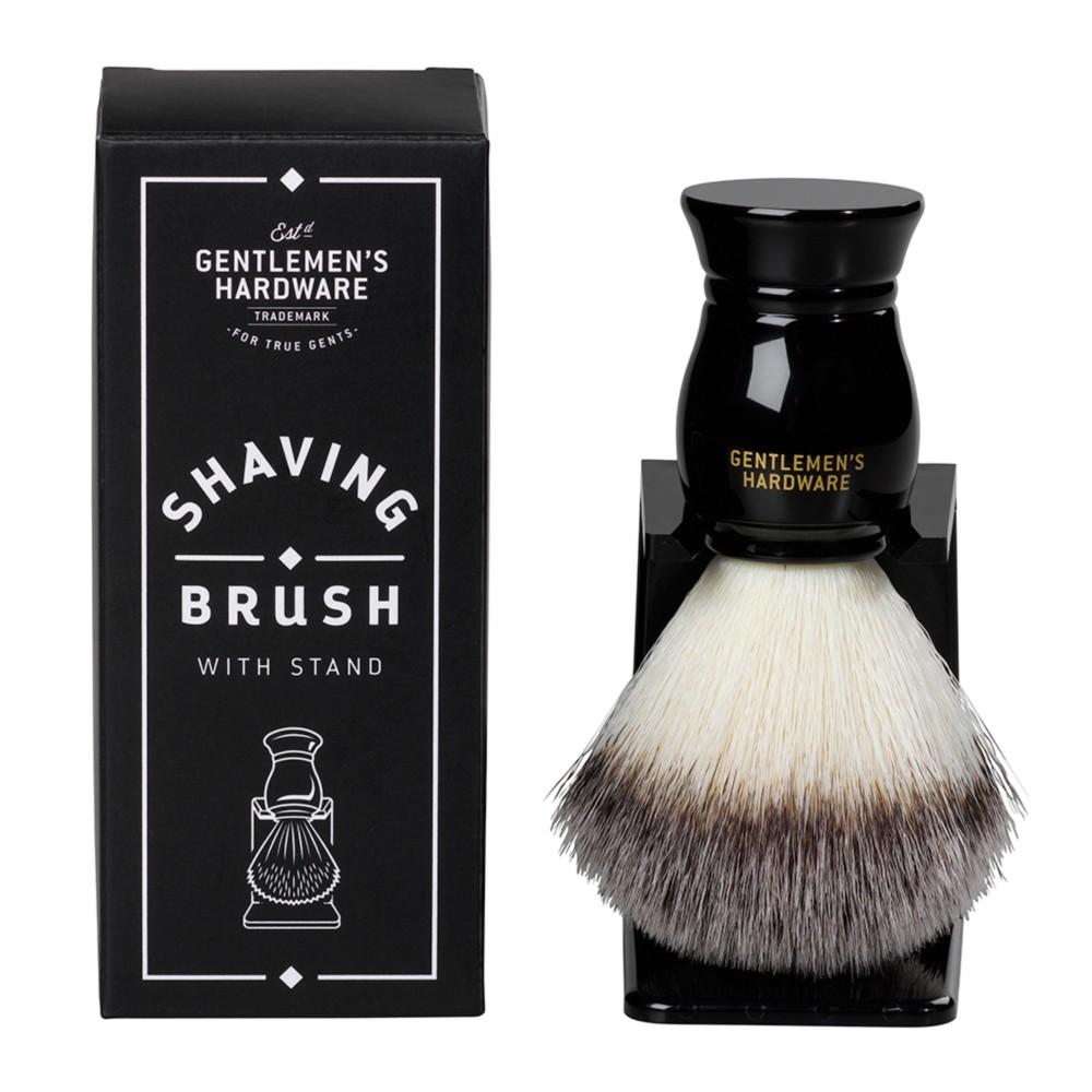 Štetka na holenie so stojančekom Gentlemen's Hardware Shine