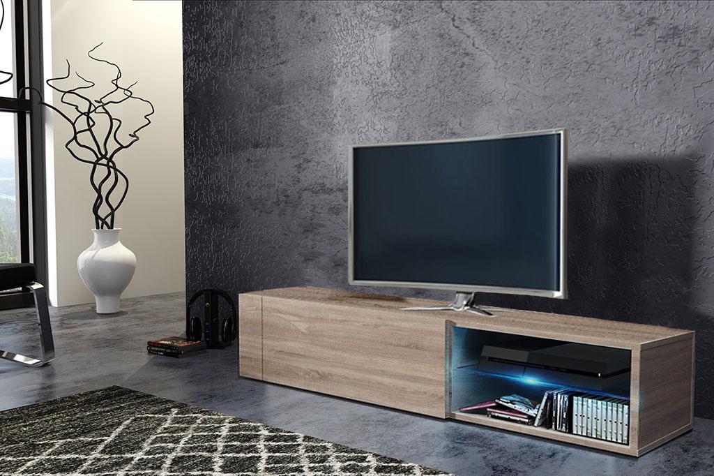 TV stolík/skrinka Best (sonoma svetlá)