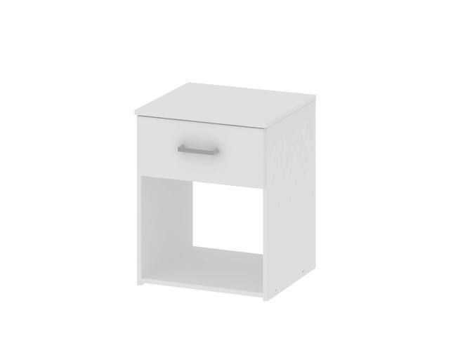 Nočný stolík Garbo biela