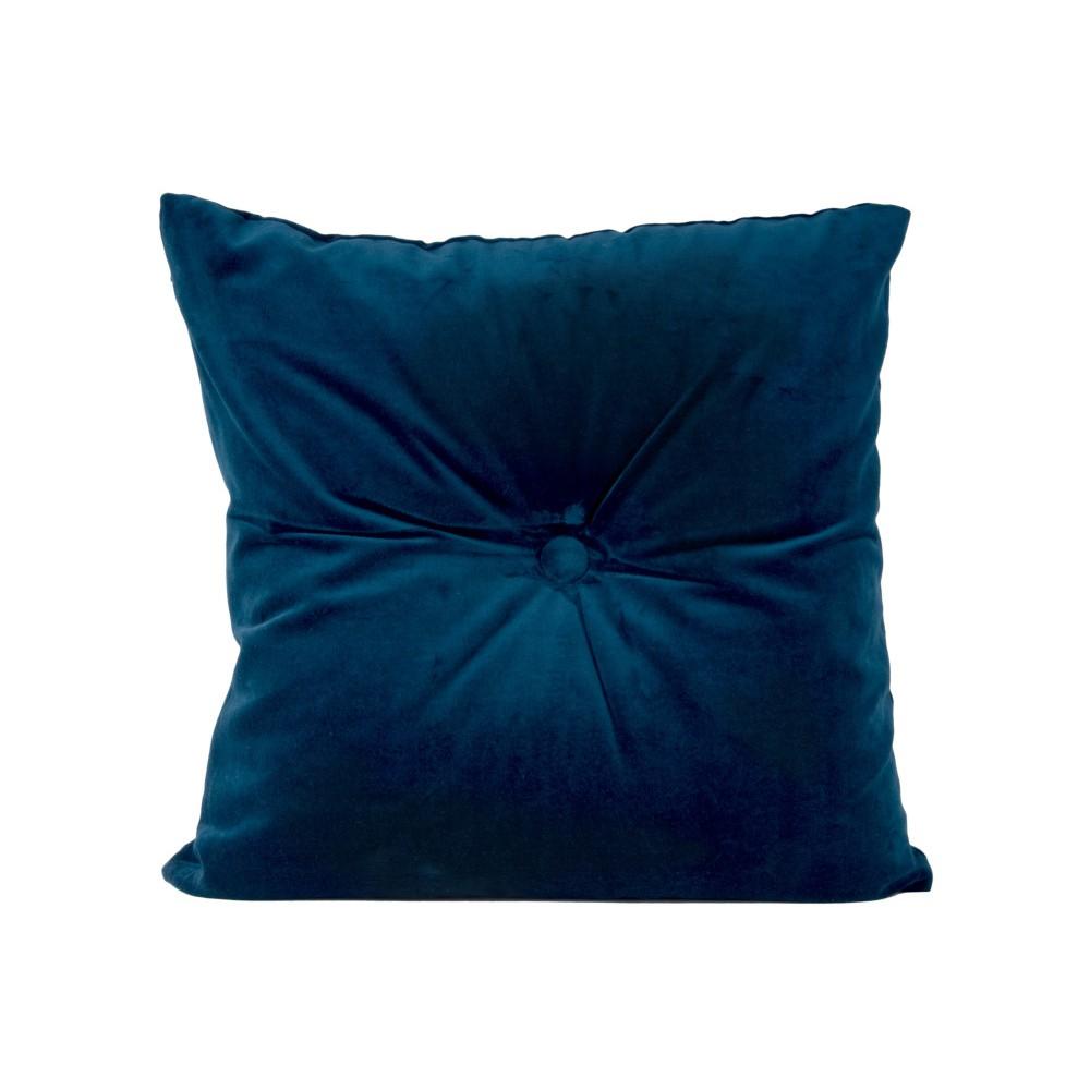 Modrý bavlnený vankúš PT LIVING, 45×45 cm