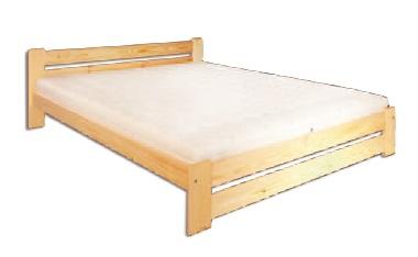 Manželská posteľ 140 cm LK 118 (masív)