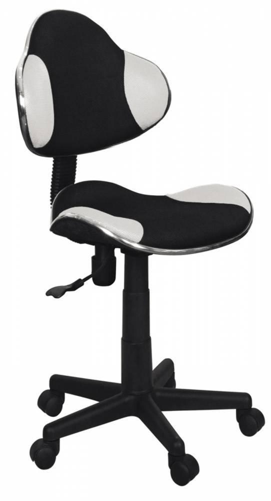 Kancelárske kreslo Q-G2 (biela + čierna)