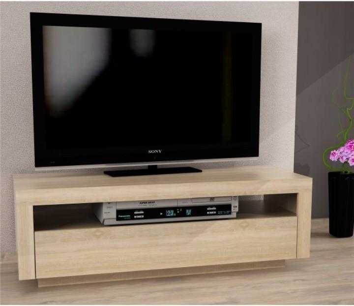 TV stolík/skrinka, dub sonoma, AGNES