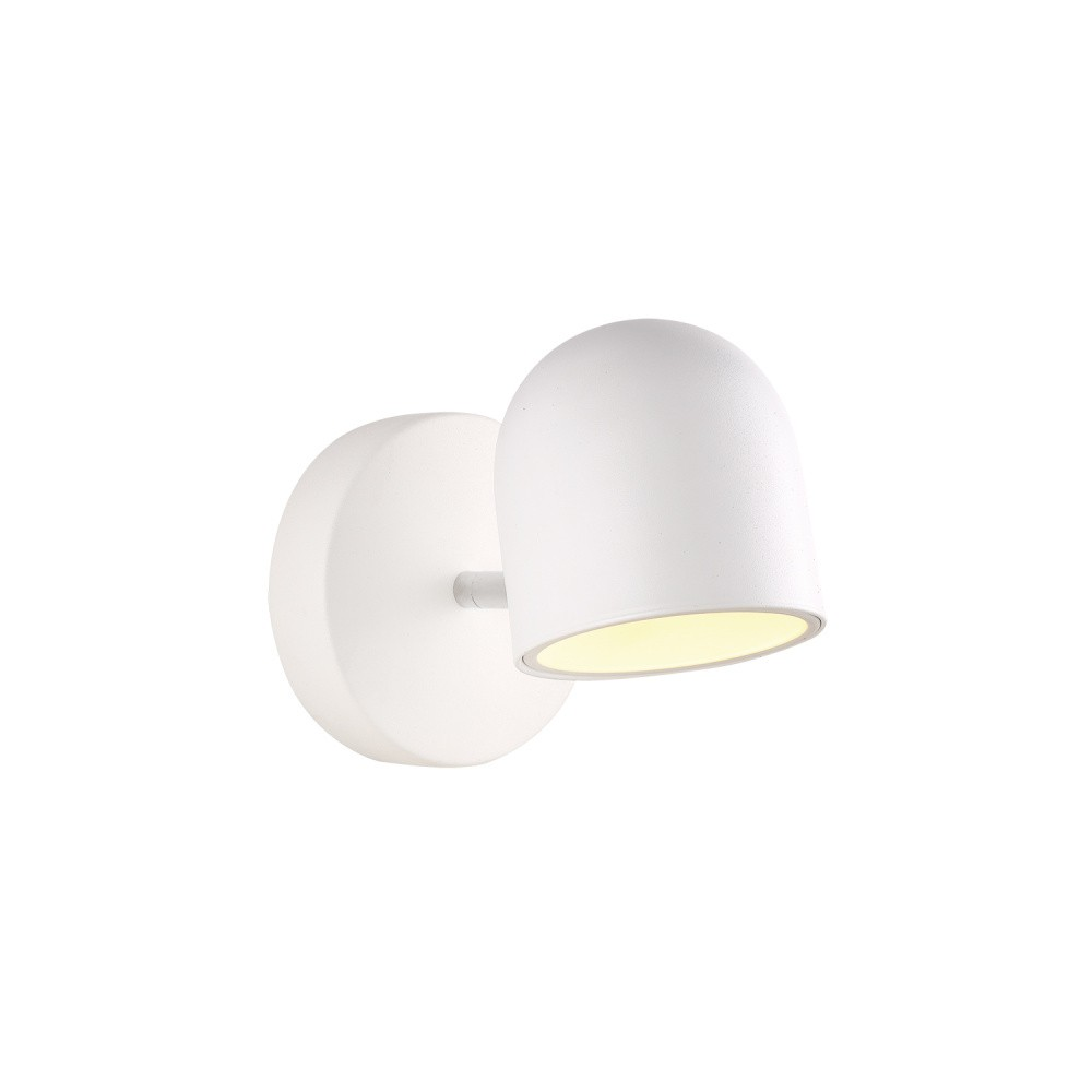 Biele nástenné svietidlo Danaro
