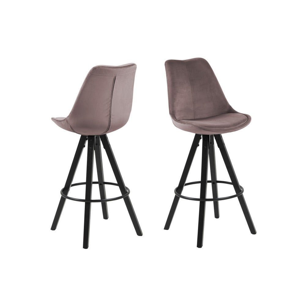 Hnedá barová stolička Actona Dima