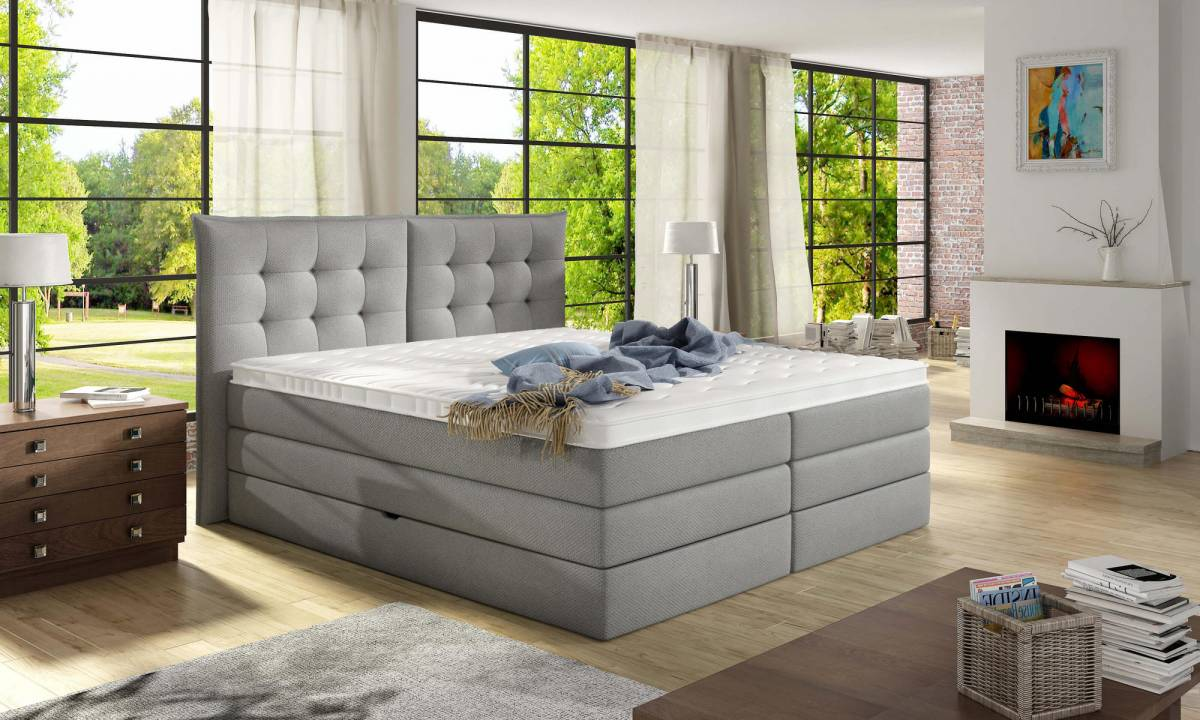 Posteľ Boxspring FENDY