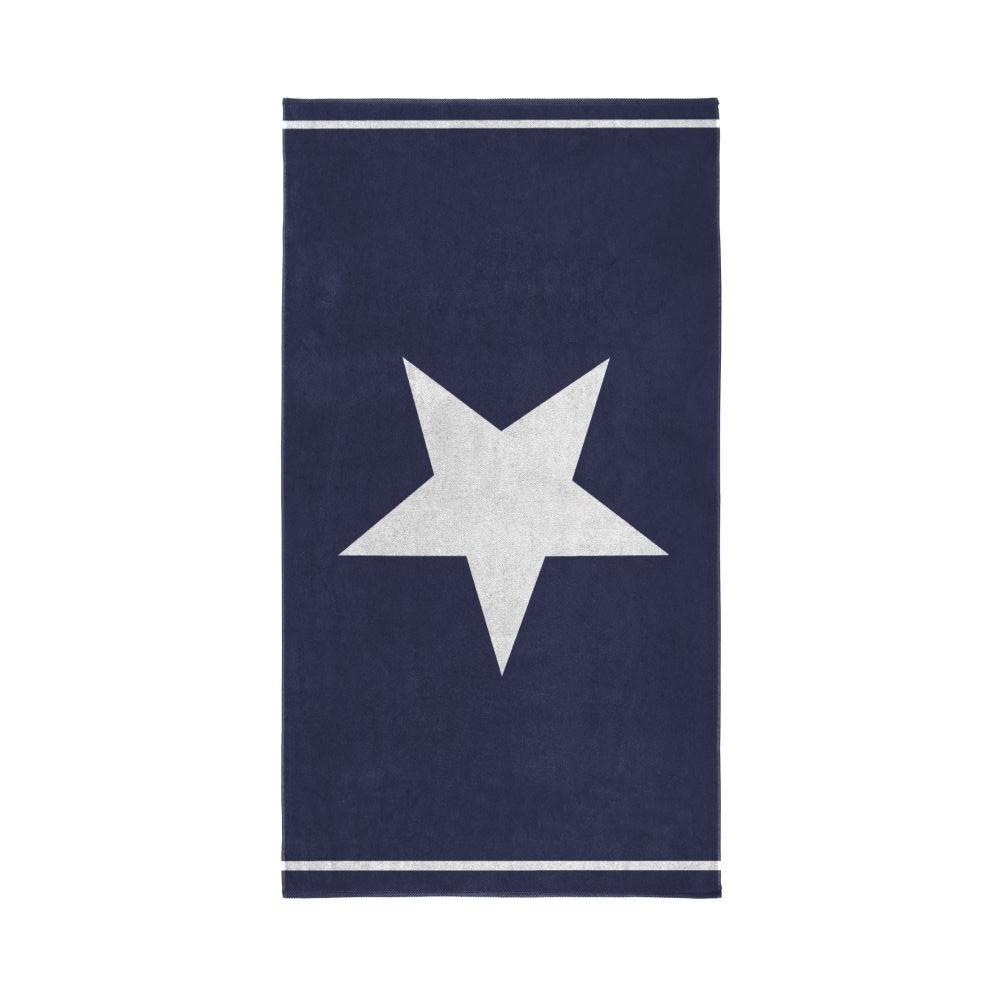 Modrá osuška Seahorse Star, 100x180cm